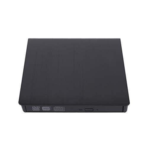 Elviray Kompakte Größe Dünnes externes USB 3.0-Laptop-PC-Laufwerk DVD-RW CD-Brenner Brenner Recorder Slot Load Reader Player Optisches Laufwerk Slot-load Dvd-rw