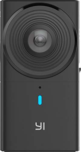 YI 360 VR Cámara de Doble Lente 5.7K HI Resolución Cámara panorámica con estabilización de Imagen electrónica, 4K en cámara Costuras