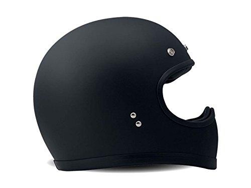 DMD - Helm aus Kohlenstoff-Kevlar-Faser \'Racer Matt Black\', Größe: L