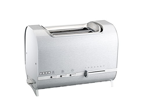 Usha 3210p 800-watt Pop-up Toaster (white)