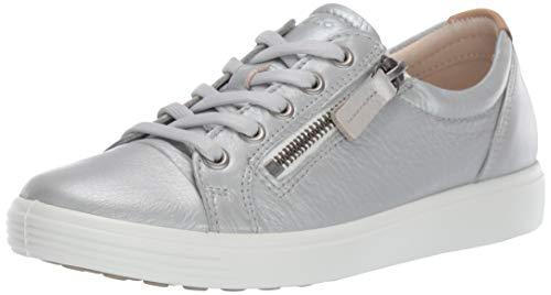 ECCO Soft 7 Ladies, Scarpe da Ginnastica Basse Donna, (Concrete Metallic 51382), 41 EU