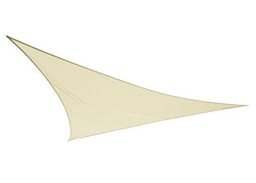 Voile d'Ombrage Ivoire Triangle 3m - Imperméable - 160g/m2 - Kookaburra