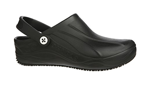 Oxypas Smooth, Unisex Adults' Safety Shoes, Black (Blk), 5 UK (38 EU) Schwarz (blk)