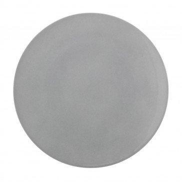 Lot de 6 assiettes plates rondes Modulo Color Gris Perle 26 cm