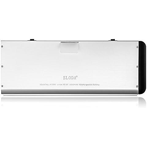 SLODA Nueva Batería del Ordenador Portátil Para Apple Macbook A1278 A1280 Series de 13 Pulgadas, de Aluminio Unibody MB466CH/A/ MB466D/A (2008 Version)