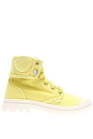 Palladium Femme Sneaker haute pacal0134P743Lady Baggy Marshm soleil Canvas - jaune - Lemon, 37 EU