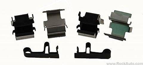 . Top Qualité d'origine. NEUF SOUS emballage d'origine Carlson Quality Brake Parts p868Frein Kit de montage pour (Chrysler/Dodge/Jeep & Mitsubishi)