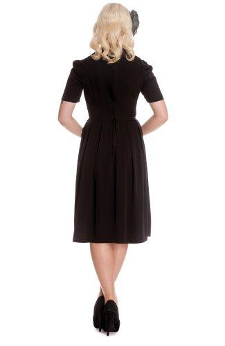 Robe robe cONNIE clair bunny noir Noir - Noir