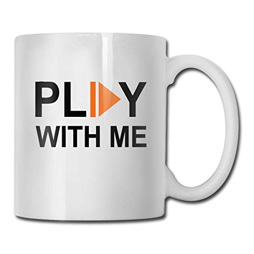 b1bfcd02 LINGJIE Coffee Mug Strong Stability, Anti-Breaking,Superior Quality Play  with Me Funny