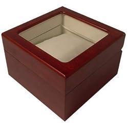 VK von Buran01.com Hochwertige Uhrenbox aus Holz mit Sichtfenster