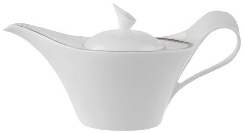 Villeroy & Boch Newwave Premium Platinum 1.20 Litre Teapot, 6 Persons