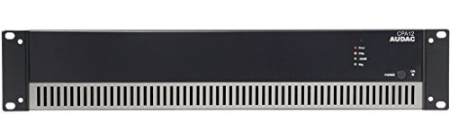 AUDAC CPA12 1.0 Home Wired Black audio amplifier - audio amplifiers (1.0 channels, 120 W, A/B, 1%, 90 dB, 10 Ω)