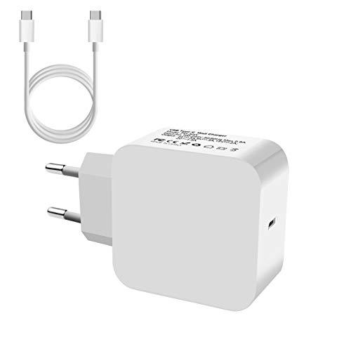 USB Type-C Wall Charger Ladegerät Netzteil PD-29W für Apple MacBook A1534, Google Pixel, Huawei Mate 9, Xiaomi 6, LG G5, Lenovo ZUK Z2 Pro, HP Spectre 13, iPad Pro 2017, Meizu Pro 6 Plus, MEHRWEG -