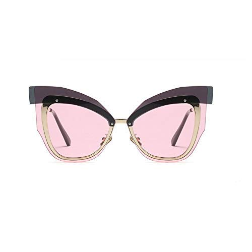 GFF Sonnenbrille übergroße Männer Frauen Mode UV400 Vintage Brille 45646 - 525 Brillen