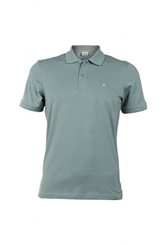 Jack & Jones Herren Poloshirt JORPERFECT POLO SS Grün (Lily Pad Fit:SLIM)