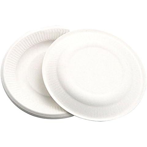 Outgeek 10 cuenta platos desechables platos de cumpleaños boda fiesta de vacaciones