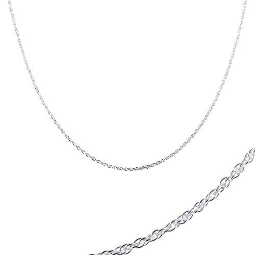 DIOOR Schmuck für Frauen Geschenk für Damen Mädchen Kristall/Silber/Gold Anhänger Halskette Sterling Silber Filigrane Halskette