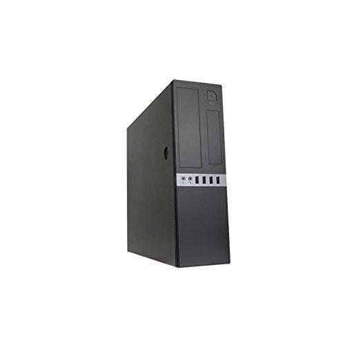CoolBox PC Micro-ATX Tower/Gehäuse Slim T450S (Quelle 300) USB3.0 (Slim-tower-gehäuse)