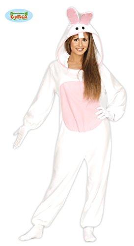 weißes Hasen Kostüm für Damen Gr. M/L, (Kostüm Weißes Kaninchen Damen)
