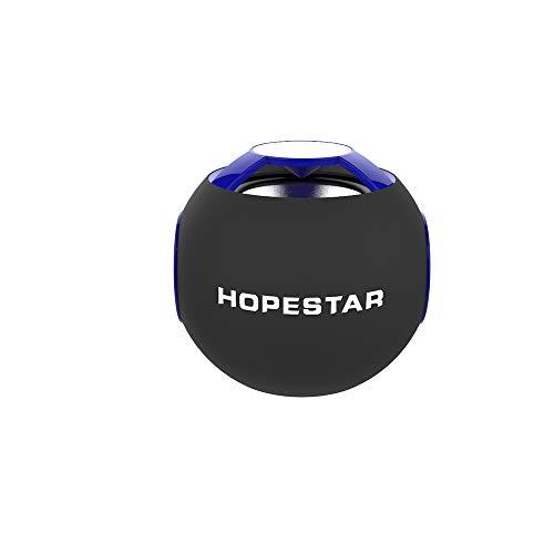 WYP Drahtloser Bluetooth-Lautsprecher Mini Portable Home Audio Steckbare Karte,Blue -