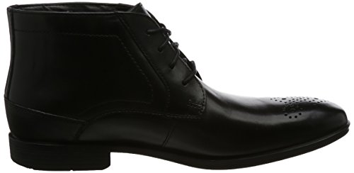 Rockport Herren Styleconnected Chukka Boots Schwarz (black Lea)