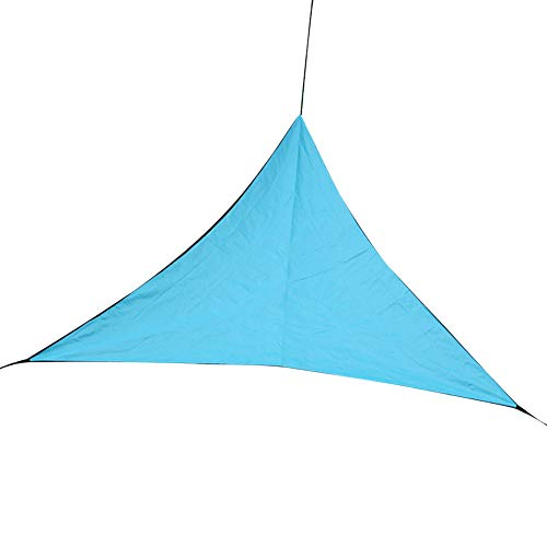 pittospwer Outdoor Triangle Sun Shelter Campingzelt Patio Camping Zelt One Size Sky Blue