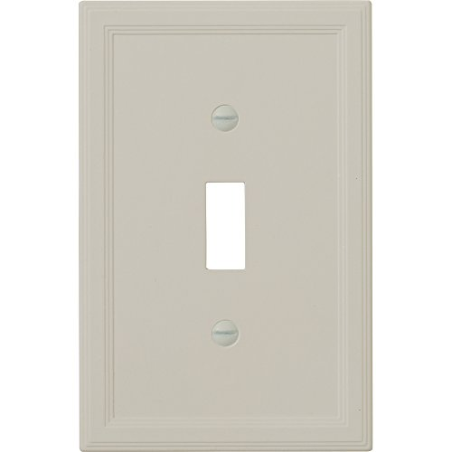 questech Gray Isolierter-/Switch Plate/Auslass Cover Single Toggle grau - Gray Wall Plate