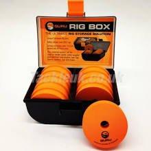 Guru Inline X-Safe Square Pear Blei Angelblei Box Lead Bomb 19-57g 2 Stück