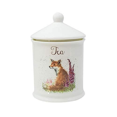 31IJR4G9C%2BL - Verpackt Wrendale Luxus Küche Feines Porzellan China Land Fuchs Tee Glas Behälter