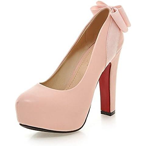 Moda dulce lazo blanco muy tacones/ luz de la cabeza femenina boca princesa zapatos de tacón de plataforma/Zapatos de moda