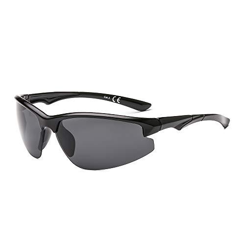 Suertree polarisierte Sport-Sonnenbrille Mode Winddichte Brillen Männer Mountain Shades JH6005