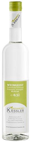 Weingeist Primasprit Ethanol 96,4% - 500ml - Brennerei Kessler