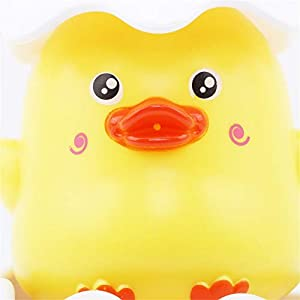 EJY Children Duck Penguin Egg Style Sprinkling Water Bath Toy(Duck)