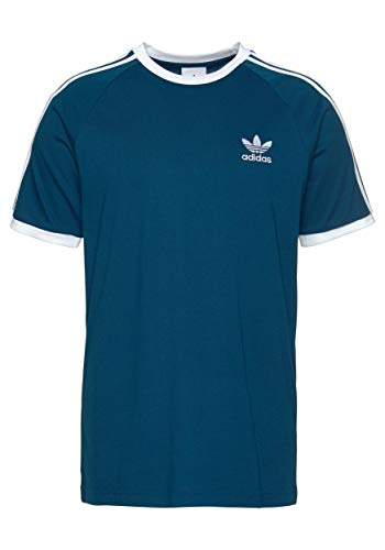 adidas 3-Stripes T-Shirt (M, Marine) -