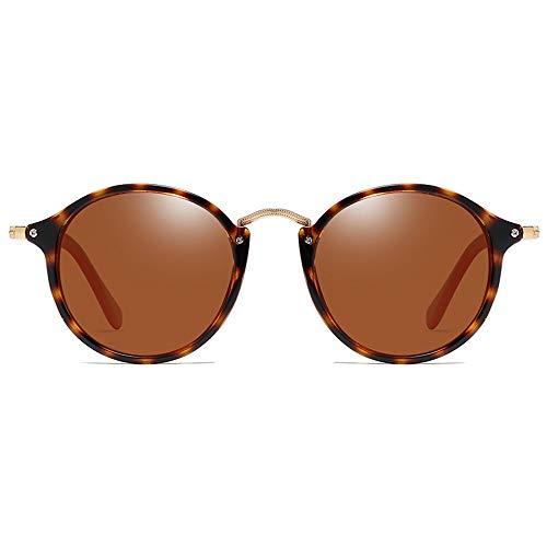 FURUDONGHAI Polarized PC Echte Sonnenbrille Schildpatt Rahmen Grün/Braun Objektiv Männer Und Frauen Mit Dem Gleichen Fahrantrieb Sonnenbrille besonders geeignet für sommerreisen oder Out