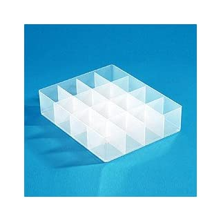 16 Large Compartment Storage Tray for Really Useful Boxes 28 x 22 x 6.5 cm