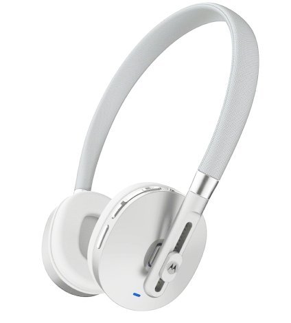 Motorola Moto Pulse Wireless Stereo Headphones (White)