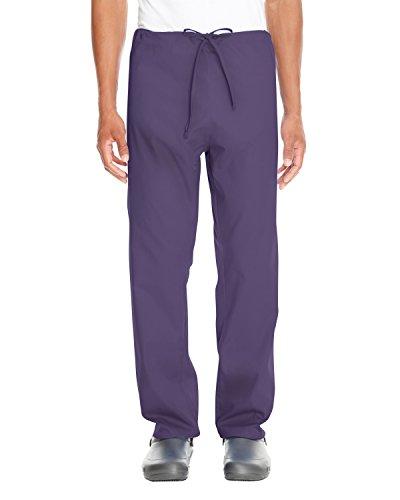 Scrubs Bottoms Pants (Adult Restore 4.9 oz. Scrub Bottom DEEP PURPLE 3XL)