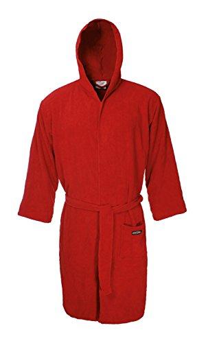 Ferrino Sport Robe - Accappatoio Uomo, Rosso, S/M
