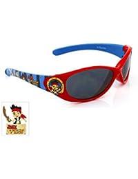 Lunettes de soleil - Jake et les pirates - Rouge et bleu - officiel