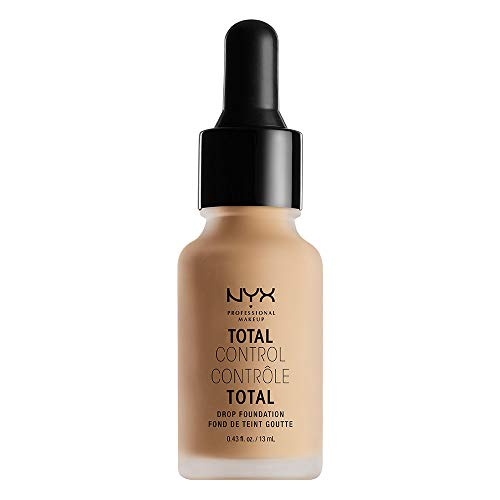 NYX Total Control Drop Foundation - TCDF porcelain sell by glitz