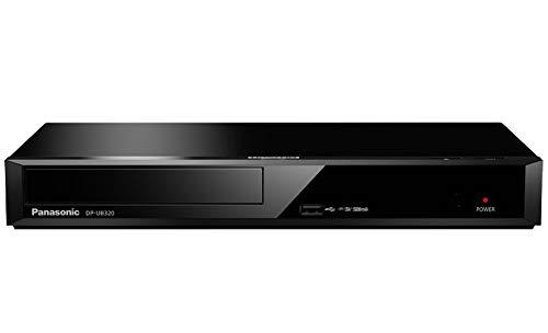 Panasonic DP-UB320EGK - Reproductor BLU-Ray (Ultra HD, procesador Chroma 4K, procesador HCX, Funcion escalado 4K Direct Croma) Color Negro