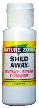 Nature Zone Shed Away Reptile Skin Moistener Softener Lubricator Shedding 1.7oz 1