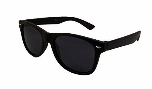 WSUK - Gafas de sol - para hombre negro matte black