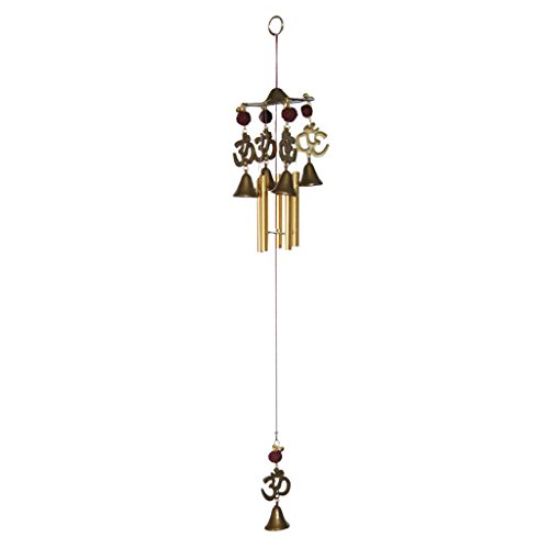 Divya Mantra Feng Shui Om 5 pipe Wind Chime for Home and Balcony  available at amazon for Rs.349
