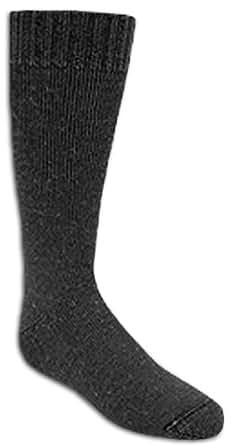 Wigwam Snow Jr - youth ski socks (black). Size UK 10-3