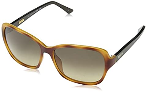 Fendi FS5275-215 Ladies Light Havana FS5275 (Fendi Occhiali Da Sole)