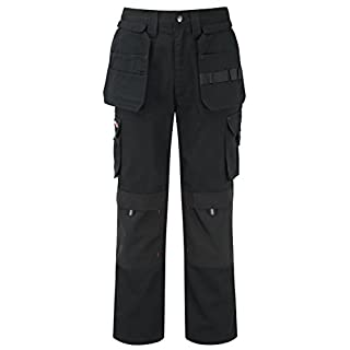 TuffStuff 700/BK-34R 34-Inch Width 30-Inch Length 30-Inch Leg Regular Extreme Work Trouser - Black