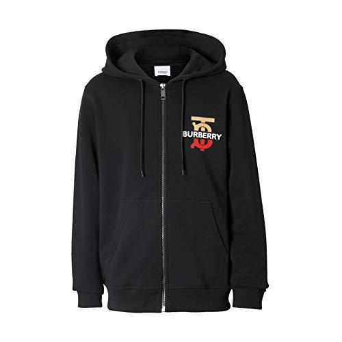 BURBERRY Herren 8017000 Schwarz Baumwolle Sweatshirt