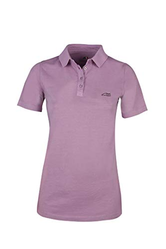 Equiline Damen Sport Poloshirt Mable Farbe Reitbekleidung Dahlia, Kleidergrößen XS